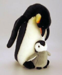 Details about KEEL TOYS Standing PENGUIN 30cm + 13cm Mother & Baby Couple SOFT TOY