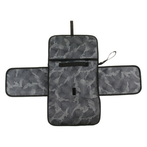 Portable Changing Station with Cushioned Changing Mat and 3 Pockets