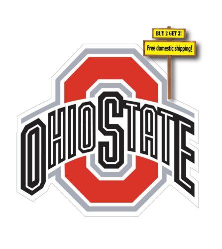 "OSU OHIO STATE UNIVERSITY 6/"" DIE CUT DECAL STICKER NCAA O2"