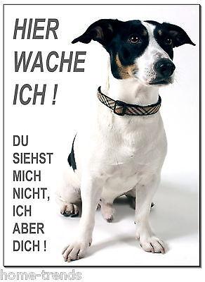 Das Beste Jack Russel Terrier-hund-alu-schild-0,5-3 Mm Außen- & Türdekoration türschild-warnschild-hundeschild Dekoration