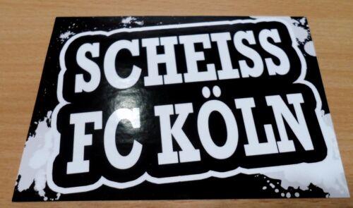 Bayer 04 Leverkusen Aufkleber Scheiss FC Köln Neu