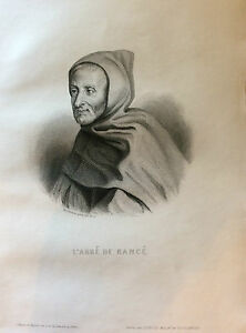 Abbot-of-Rance-Engraving-1863-France