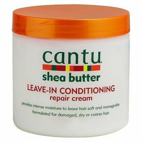 Cantu Shea Butter Leave-In Conditioner Repair Cream 16 Ounce