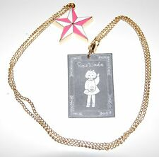 Monsoon Accessorize Solid Nautical Star Necklace by Rosie Wonders Gold & Pink