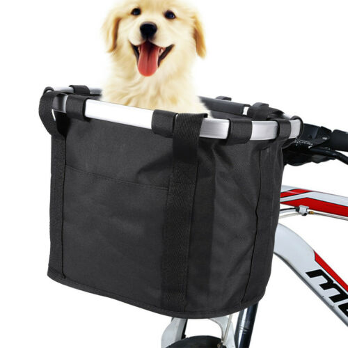 Bicycle Front Bags Cycling Bike Handlebar Basket Pet Puppy Dog Cat Carrier Case