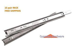 Full-Extension-Ball-Bearing-Drawer-Slides-100lb-15-PAIR-PACK