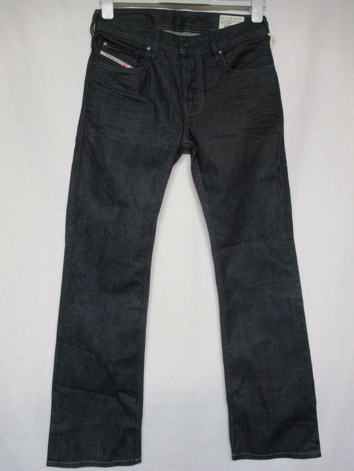 NWT DIESEL Zatiny Regular Boot cut bluee faded denim jeans pants cotton 27x32