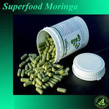 500 Moringa Oleifera Vegi Kapseln á 600mg - 100% ÖKO - vegane Rohkostqualität 1A