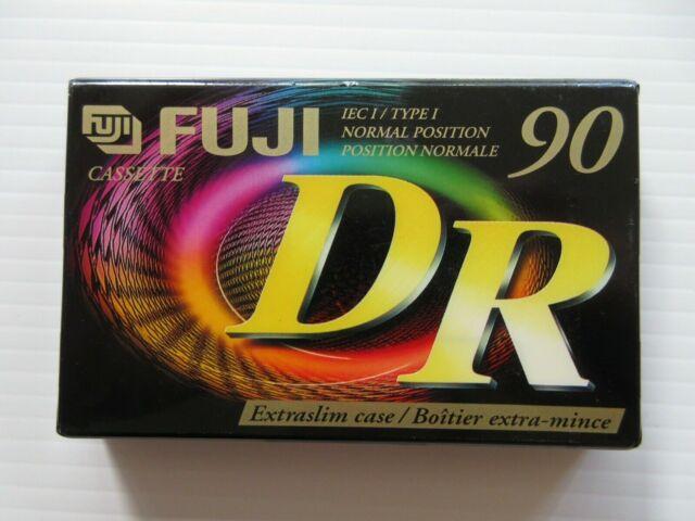 Fuji Cassette Tapes Blank DR 90 Type I - Normal Bias