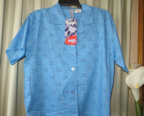 VINTAGE DAVENPORT Official AFL WEST COAST SHORTIE PJ'S Size S NWT