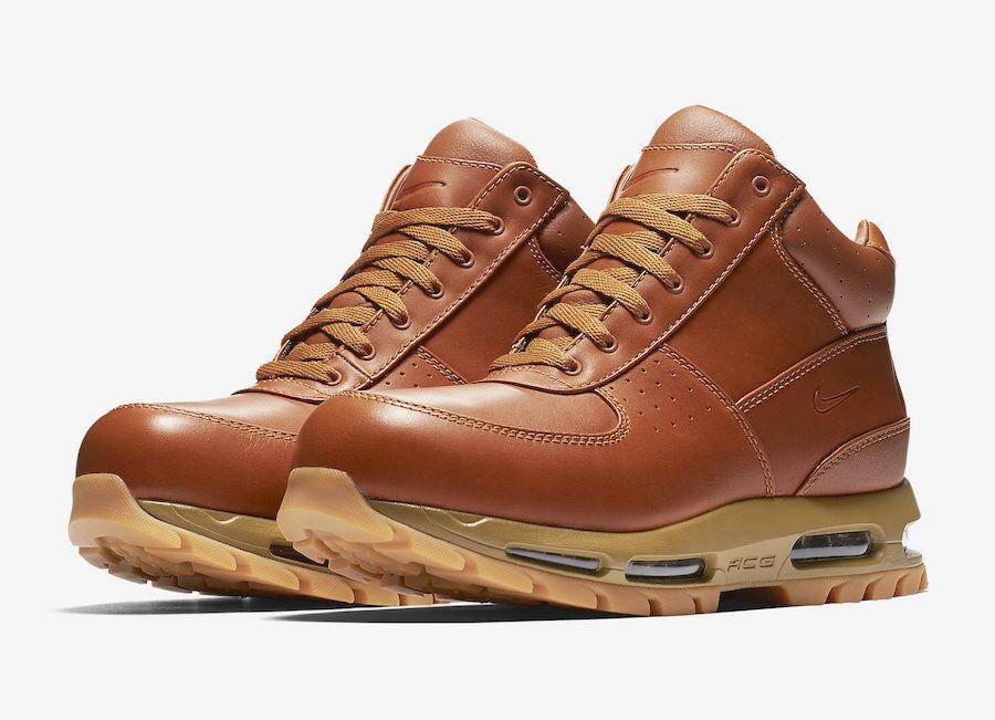 Nike Air Max Goadome ACG  Men's Boots 865031-210 Cider  golden Beige
