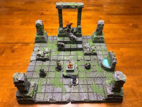 Dungeon Big Sacred Ruin Set 28mm Terrain Dungeons /& Dragons Pathfinder d/&d 40k