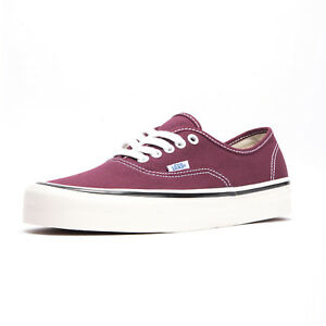 5b36c50d98d6bf Vans Unisex Authentic 44 DX Anaheim Factory OG Burgundy White ...
