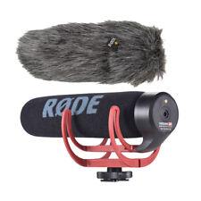 Rode VideoMic Go On-camera Shotgun Microphone Fur Wind Shield for DSLR Camera