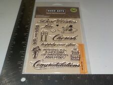 HERO ARTS BASICGREY #CL509 LUSCIOUS FRAMES POLY CLEAR STAMPS NEW A1814