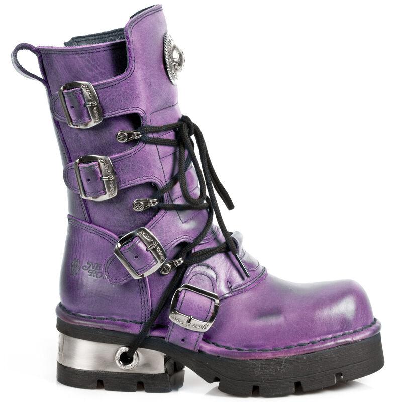 New Rock Schuhe NEU Stiefel Stiefel Bikerstiefel Gothic NEU Schuhe f2e2eb