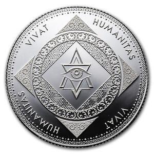 1 oz Silver Round - Vivat Humanitas 2017 BU - SKU#155160