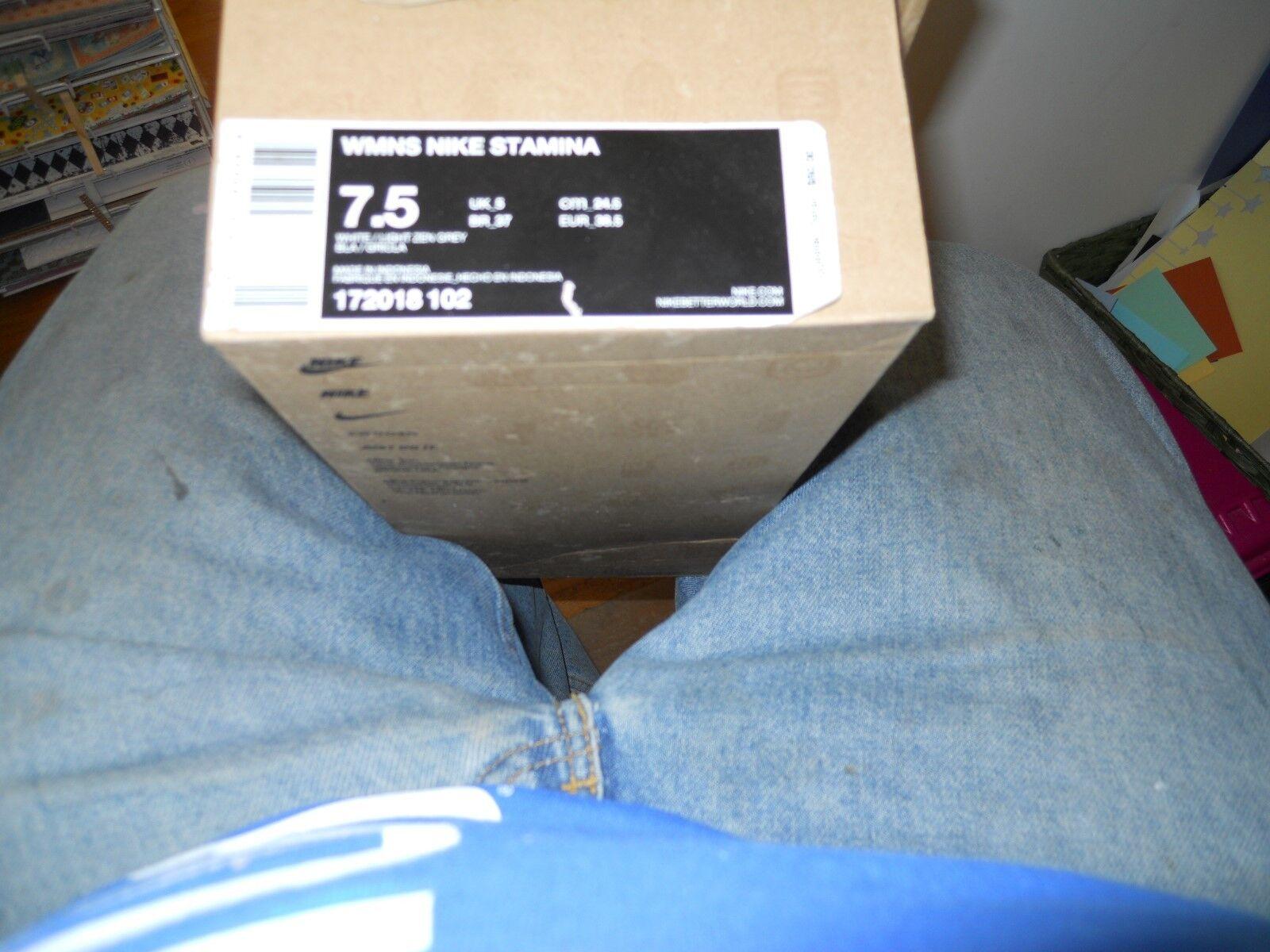 NIKE WMNS NIKE STAMINA WOMENS 7 1 2 Womens  GirlsCherrleading  shoes, New IN BOX