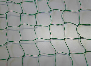 Ballfangnetz  2,00 m x 25 m  oliv  Maschenweite 5 cm  Ballnetz Fangnetz