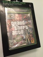 Grand Theft Auto Iv With Ex-03 Messenger Headset, Xbox 360, Gta Iv Platinum