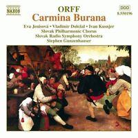 Orff Carmina Burana (Naxos, 1988/91) [CD]