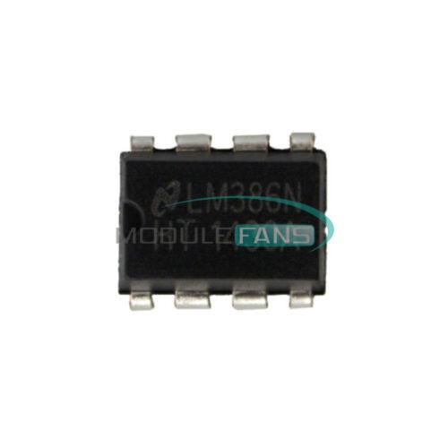 50pcs lm386n Lm386 Dip-8 Audio Amplificador de potencia IC de equipos de prueba