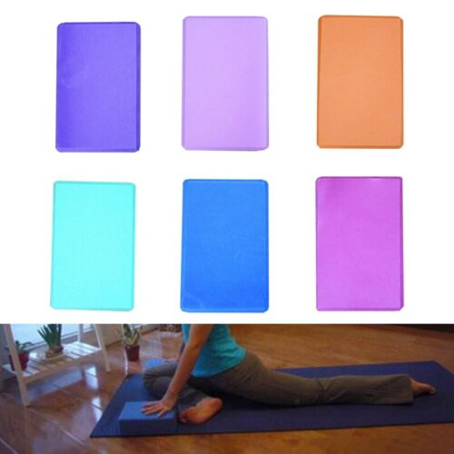 Yoga Block Pilates Backstein Schaumstoff Stretch Fitness Übung Fitnessstudio