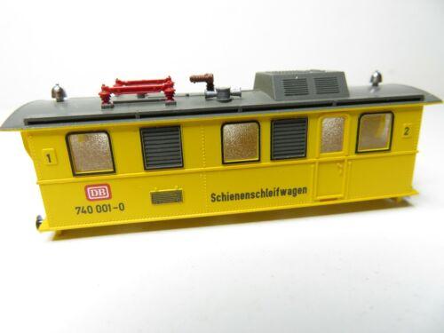 Fleischmann N 215N //64 Gehäuse Lokgehäuse Schienenschleifwagen 740 001 top