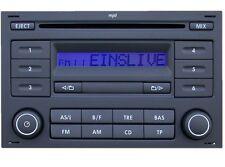 VW RCD 200 MP3 CD ORIGINAL RADIO VW TRANSPORTER T4 T5 POLO GOLF PASSAT NEU