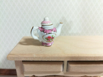 Dollhouse Miniature Unfinished Metal Fancy cup /& saucer