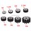 3M10T-30T-45-Steel-Spur-Gear-Metal-Module-3-Moter-Gear-Wheel-10-30-Tooth thumbnail 4