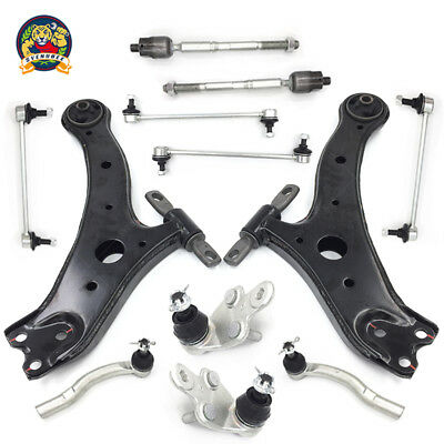 Front Steering /& Suspension Tie Rod Links Sway Bar Links Kit For Toyota Camry