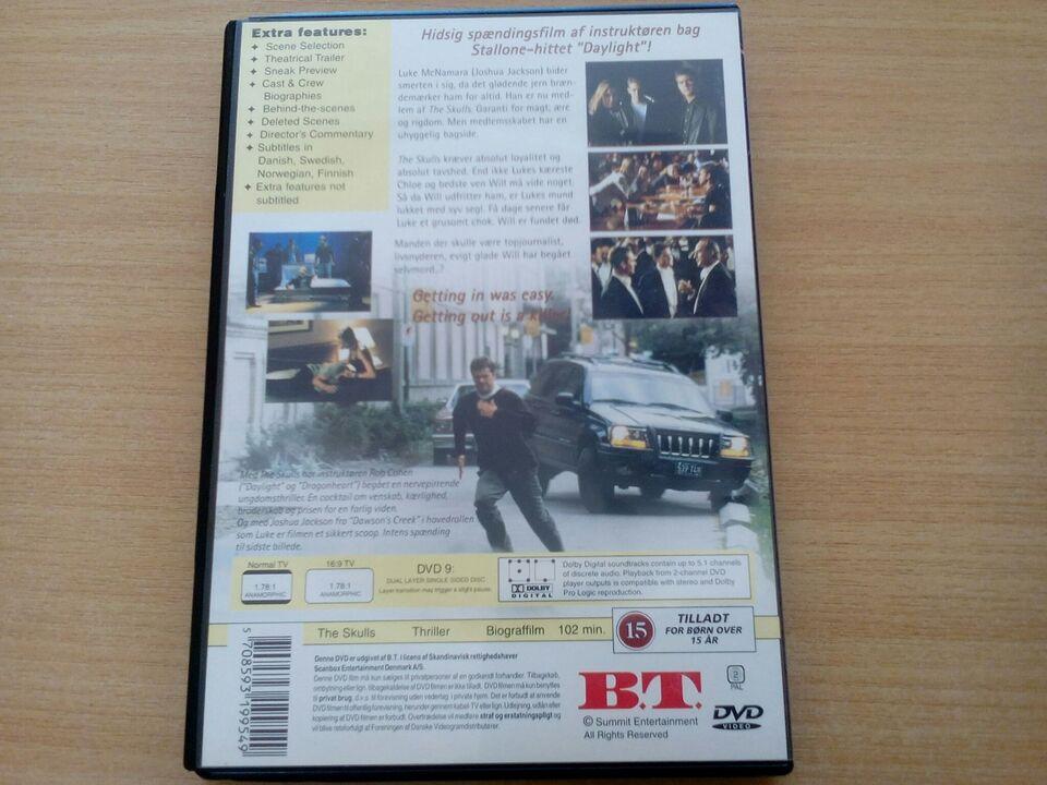 The skulls, DVD, andet