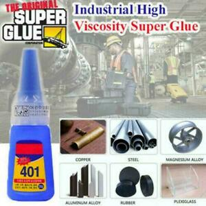 401-Instant-Adhesive-Bottle-Stronger-Super-Glue-Multi-Purpose-mPa-s-90-140-T9N5