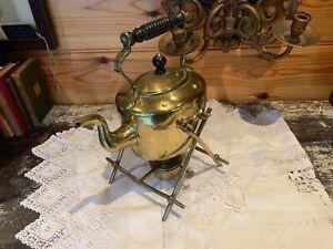 Victorian Brass Spirit Kettle