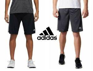 NEW-Adidas-Men-039-s-3-Stripe-Climalite-Training-Athletic-Shorts-VARIETY
