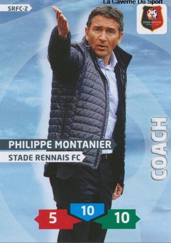 SRFC-02 PHILIPPE MONTANIER # STADE RENNAIS CARD ADRENALYN FOOT 2014 PANINI
