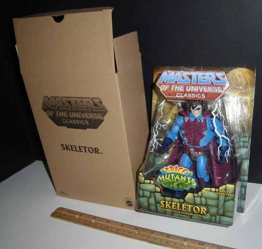 Masters of the Universe Classics Intergalactic Space Skeletor Matty Matty Matty Collector a56323