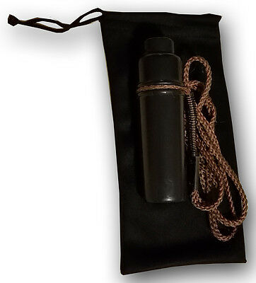 Qty 20 Game Call Case Hunting Call Case Pouch Soft Bag Black Sleeve USA SELLER