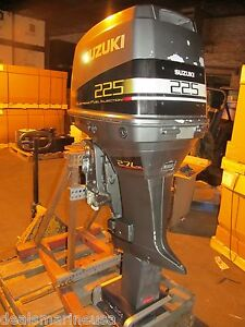 """2000 225HP 225 25"""" SHAFT EFI  SUZUKI OUTBOARD MOTOR For Parts Not Working Seized"""