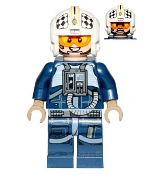 Lego Star Wars U-Wing Pilot 75155 Mini Figure Genuine Lego