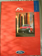 Ford Ka range brochure 1997 Ed 2