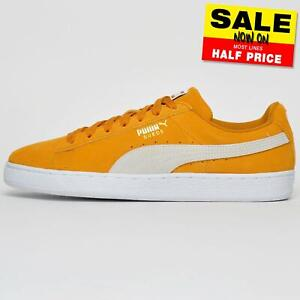 Puma-Suede-Leather-Mens-Lifestyle-Classic-Casual-Vintage-Retro-Trainers-UK-8