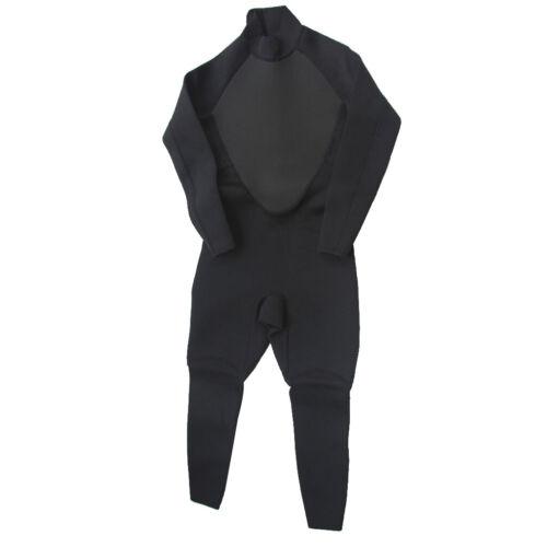Langarm Badeanzug Mit Neoprenanzug Für Herren 3 Mm Ganzkörpertauchanzug