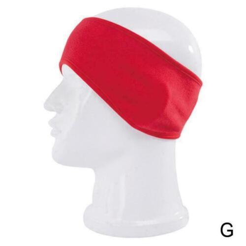 Ear Warmers Cover Headband Winter Sports Headwrap Fleece Ear muffs Unisex W C5S8