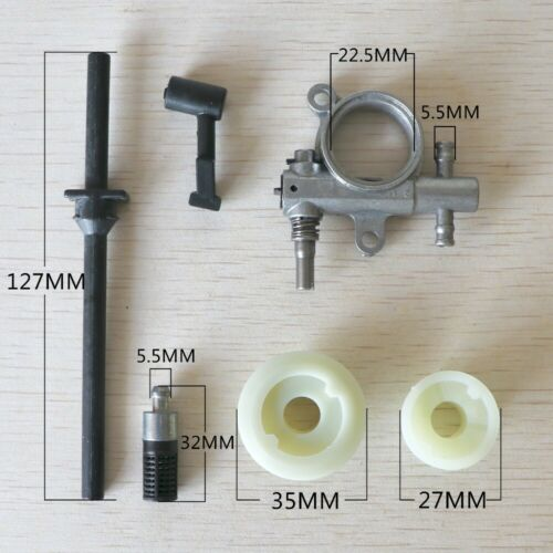 Parts Oil Pump Hose Accessories Portable 2500 Pipe Chainsaw Equipment Adapter