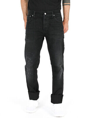 Nudie Men/'s Regular Fit Jeans Trousers Dude Dan Black Rider B-Stock New