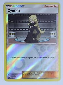 4x Cynthia 119//156 Ultra Prism Pokemon TCG Online Digital