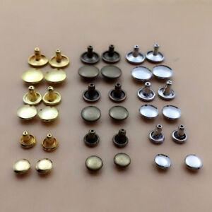 100pcs-6-8-10mm-Round-Double-Cap-Rivets-Leather-Craft-Stud-Repair-Tool-DIY-Sets