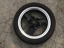 OEM 2.50x16 front wheel & tire from 84 / 85 HONDA VF500F Interceptor motorcycle